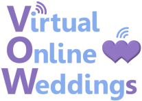 Virtual Online Weddings & Renewal of Vows